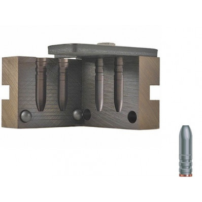 """RCBS Soft Point Rifle Bullet Mould - Double Cavity .285"""" 168 gr"""