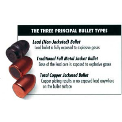 "Rainier Ballistics LeadSafe Handgun Bullets .40/10mm .400"" 155 gr FP 1000/ct"
