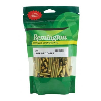 Remington Unprimed Brass Rifle Cartridge Cases - .223 Rem 100/box