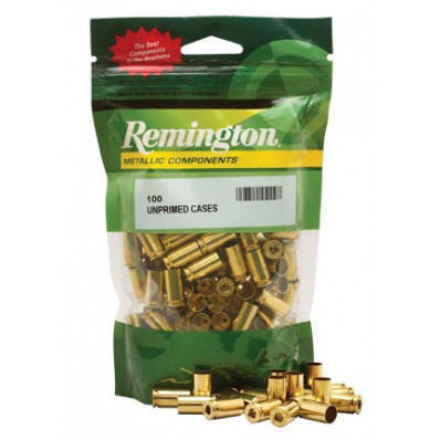 Remington Unprimed Brass Handgun Cartridge Cases 100/ct .38 Spl