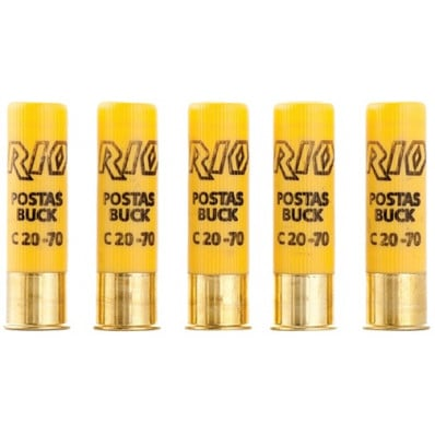"Rio Royal Buck 20 ga 2 3/4""  9 plts #00 1345 fps - 25/box"