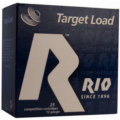 "Rio Target Load Trap 12 ga 2 3/4"" 2 3/4 dr 1 oz #7.5 1210 fps - 25/box"