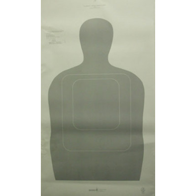 Speedwell US Customs Target - Police Silhouette NRA Instructor Course - 25 yd., 100/Pack