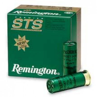 "Remington Premier STS Target 12 ga 2 3/4"" 3 dr 1 1/8 oz #8 1200 fps - 25/box"