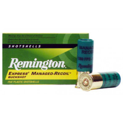 "Remington Express Managed Recoil 12 ga 2 3/4"" #00 Buck - 5/box"