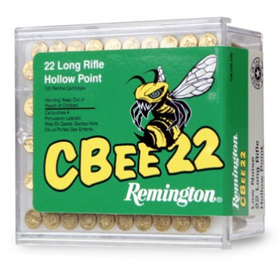 Remington CBee .22 LR 33 gr HP Rimfire Ammo - 100/box