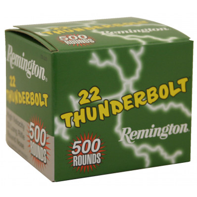 Remington .22 Thunderbolt Rimfire Ammunition