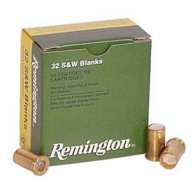 Remington Centerfire Blank Cartridges .32 S&W 50/box