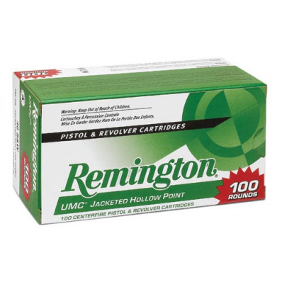 Remington UMC Centerfire Handgun Ammunition .45 ACP 125 gr JHP  100/box