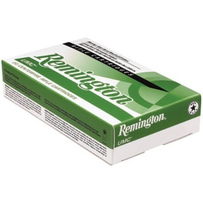 Remington UMC Centerfire Rifle Ammunition .308 Win 150 gr FMJ 2820 fps - 20/box