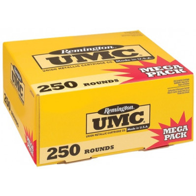 Remington UMC Centerfire Handgun Ammunition .40 S&W 165 gr FMJ  250/box