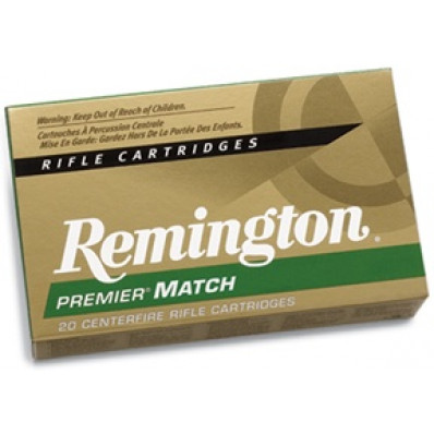 Remington Premier Match Centerfire Rifle Ammunition .223 Rem 77 gr BTHP 2788 fps - 20/box
