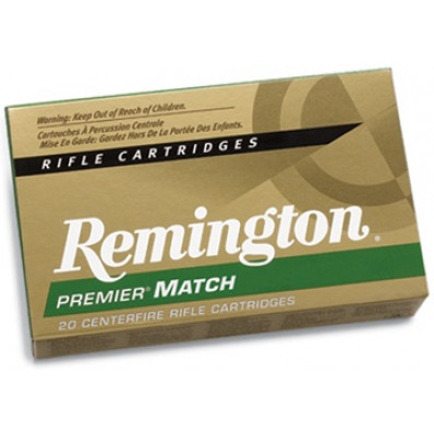 Remington Centerfire Rifle Ammunition .338 Lapua Mag 250 gr BTHP  - 20/box