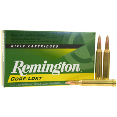 Remington Core-Lokt Centerfire Rifle Ammunition .280 Rem 140 gr PSP 3000 fps - 20/box