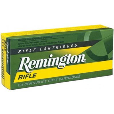 Remington Centerfire Rifle Ammunition .223 Rem 55 gr PSP 3240 fps - 20/box