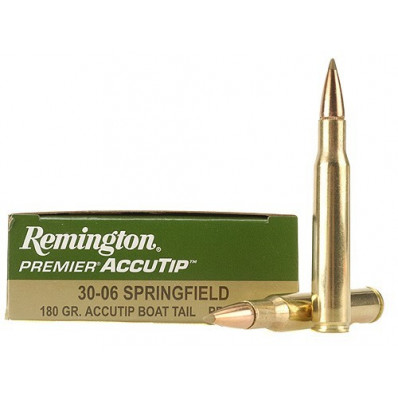 Remington Premier AccuTip  Centerfire Rifle Ammunition .30-06 Sprg 180 gr AT-BT 2725 fps - 20/box
