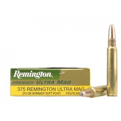 Remington Centerfire Rifle Ammunition .375 RUM 270 gr SP 2900 fps - 20/box