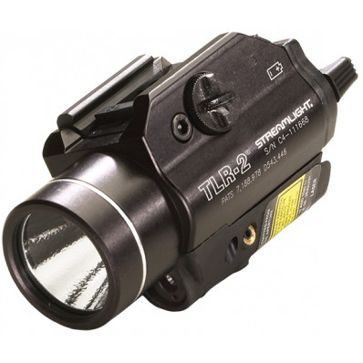 Streamlight TLR-2 Tactcal LED Light with Laser