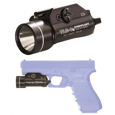 Streamlight TLR-1S Tactical LED Light with Strobe