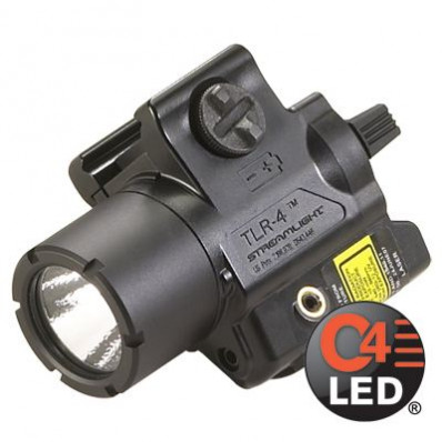 Streamlight TLR-4 Weapons Light With Red Laser