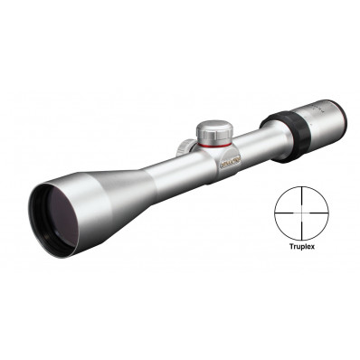 "Simmons ProSport Rifle Scope - 3-9x40mm  31.4-10.5' 3.75"" Silver"