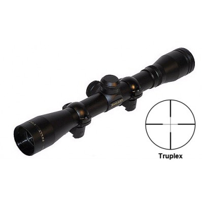 """Simmons .22 Mag Rimfire Rifle Scope with Rings - 4x32mm Truplex 21' 4"""" Matte"""