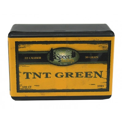 "Speer TNT Rifle Bullets .22 Hornet .224"" 33 gr TNTLF 100/ct"