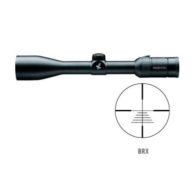Swarovski Z3 Series Rifle Scope - 3-10x42mm Ballistic Fine (BRX) 33.-11.7' 90mm Matte
