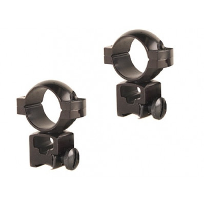 "Tasco Rings for .22 & Airguns 1"" with ""Quick Peep"" Glass"