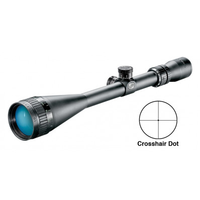 "Tasco Target & Varmint Rifle Scope - 10-40x50mm CH/DOT 11-2.5"" 3.25"" Matte"