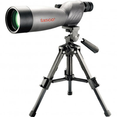 Tasco World Class 20-60x60mm Spotting Scope w/Tripod & Case