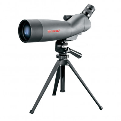 Tasco World Class 20-60x60mm Spotting Scope w/Tripod, Window Mount & Case