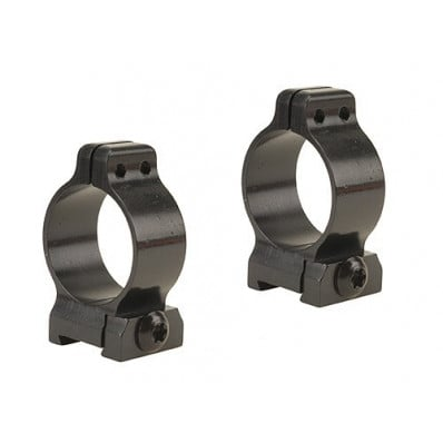 """Talley 1"""" Fixed Scope Rings - Black Satin Low"""