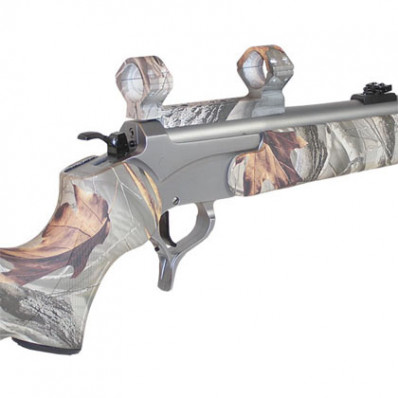 Talley Lightweight Alloy Mount Combo - HDH Camo 30mm - Low, Thompson Center Encore Omega - Triumph & Pro Hunter