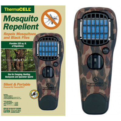ThermaCELL Mosquito Repellent Appliance with Turn Dial  Woodland Camo - Earth Scent