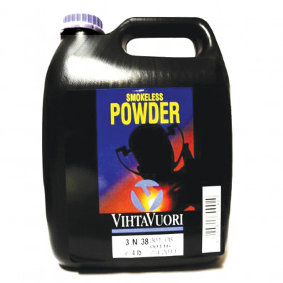Vihtavouri 3N38 Handgun-Pistol Smokeless Powder 4 lbs