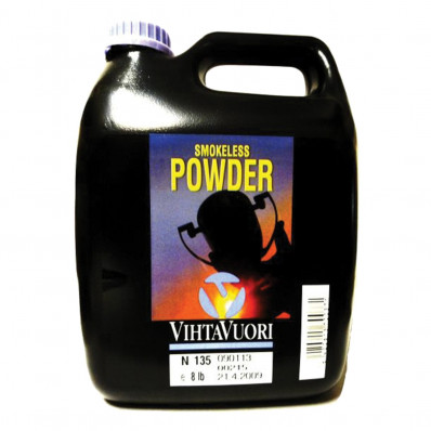 VihtaVouri N135 Smokeless Rifle Powder 8 lbs