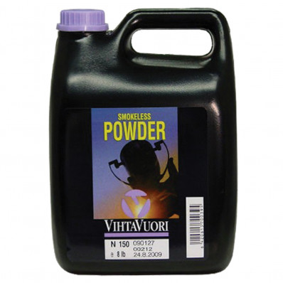 VihtaVouri N150 Smokeless Rifle Powder 8 lbs
