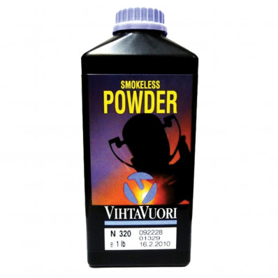 VihtaVouri N320 Smokeless Handgun Powder 1 lbs