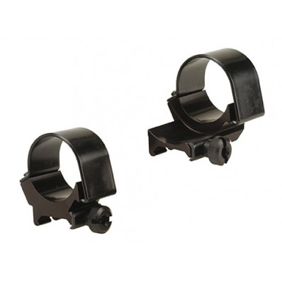 Weaver Detachable Extension Top Mount Rings - 30mm Low EXT - Black