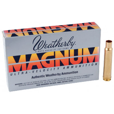 Weatherby Unprimed Rifle Brass - 7mm Wby 20/box
