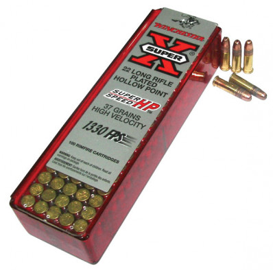 Winchester Super-X Super Speed Rimfire Ammunition