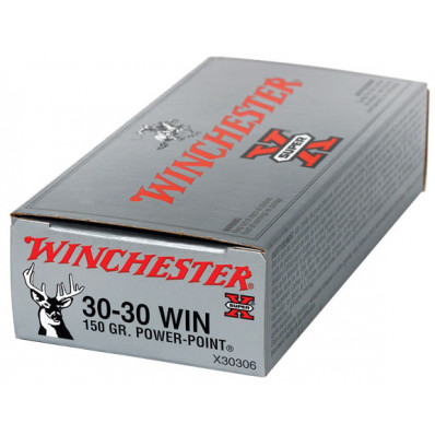 Winchester Super-X Power Point Centerfire Rifle Ammunition .30-30 Win 150 gr PSP 2390 fps - 20/box