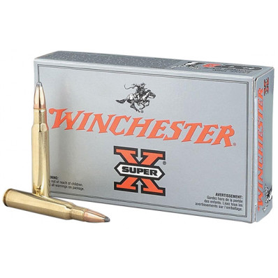 Winchester Super-X Centerfire Rifle Ammunition 7.62x39mm 123 gr SP 2365 fps - 20/box