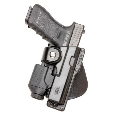 Fobus Glock 17/22/31 Tactical Paddle Holster w/ Laser Light