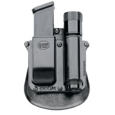 Fobus Universal Double Stack 9mm/40 Surefire Lights & Magazine Paddle Pouch
