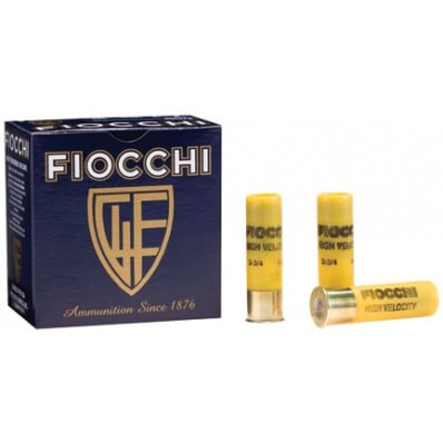 "Fiocchi High-Velocity Hunting Load 20 ga 2 3/4"" 2 3/4 dr 1 oz #6 1220 fps - 25/box"