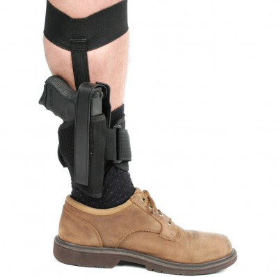 Blackhawk Ankle Holster Right Hand - Black