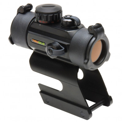 Truglo 30mm Red Dot Sight Dual Color Dot w/ Integral Remington Shotgun Mount - Camo