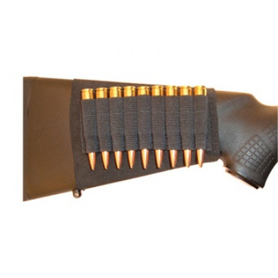 Grovtec Buttstock Cartridge Shell Holder Rifle Open Style